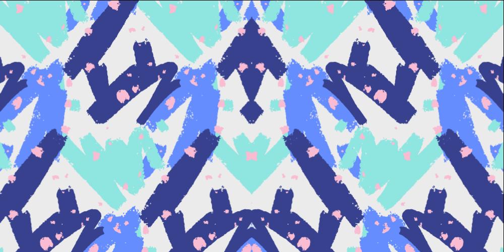 TenVinilo. Alfombra vinilo nórdica rayas azules. Preciosa alfombra vinilo nórdica de rayas azules para darle a tu hogar el toque elegante y clásico que estás buscando.