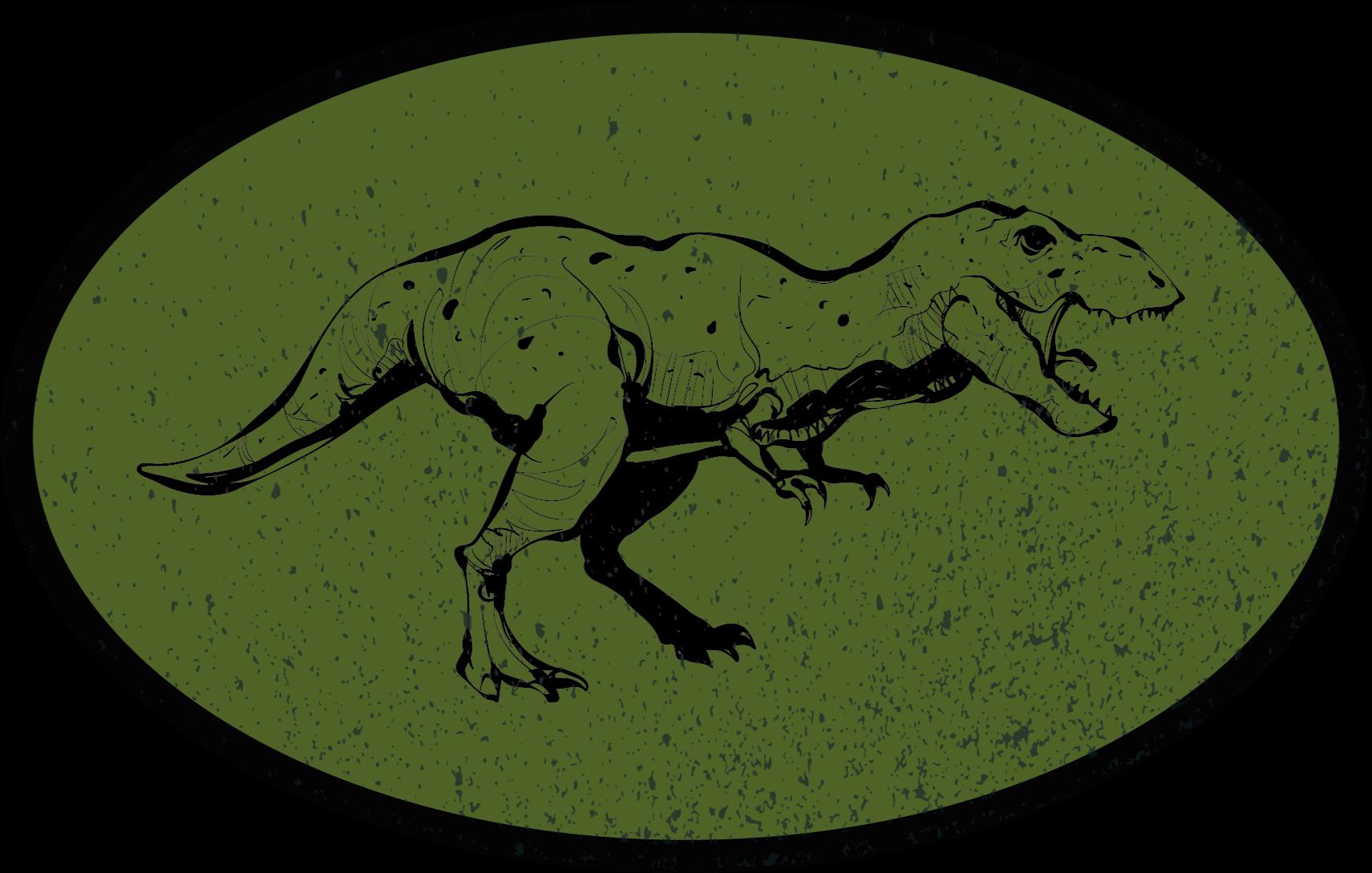 TenStickers. τρομακτικό χαλί τιράννοσαυρου rex. ένα αποκλειστικό αυθεντικό χαλί βινυλίου που θα κάνει το παιδί σας εξαιρετικά χαρούμενο με το νέο εξατομικευμένο χαλί βινυλίου! κατοίκον διανομή!