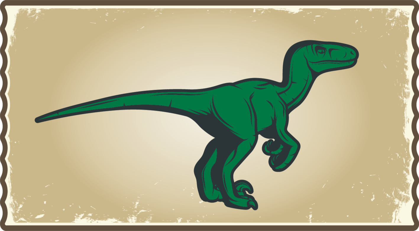 TenStickers. Grote dinosaurus vinyl tapijt . Een dinosaurus vinyl tapijt gemaakt met de beste materialen, ideaal voor uw kinderen! Maak indruk op uw kinderen met dit originele vinyl vloerkleed!
