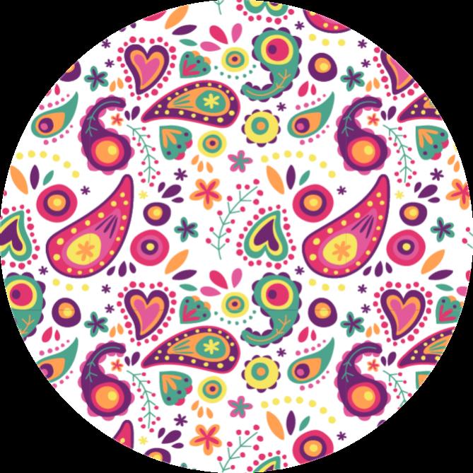 TenStickers. Covoare contemporane colorate cu design circular. Cumpără acest covor colorat din vinil și impresionează-ți prietenul și vizitatorii! Ce aștepți și dar nu! Livrare la domiciliu!