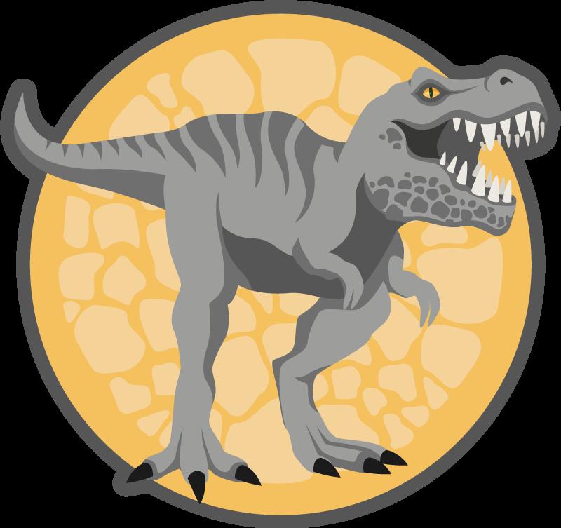 TenVinilo. Alfombra vinilo infantil T-rex dibujado a mano. ¿Por qué no sorprender a sus hijos con su propia alfombra vinilo infantil t-rex? Estamos seguros de que a su hijo le encantará