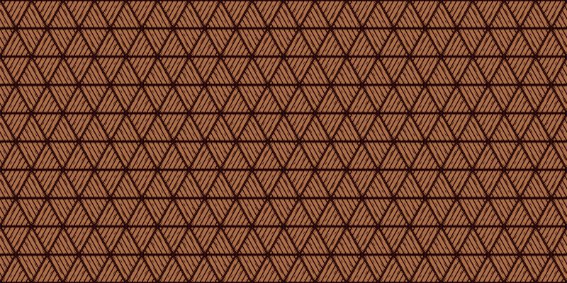 TenVinilo. Alfombra vinilo madera con triángulos. La alfombra vinilo madera para colocar en tu entrada, pasillo o salón será perfecta. Diseño con triángulos ¡Descuentos disponibles!