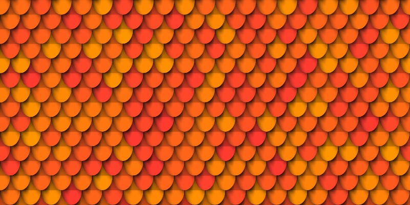 TenStickers. 屋顶模式复古地毯. 带图案的乙烯基地毯,其特征类似于老式的屋顶瓦片。注册10%的折扣。高质量。
