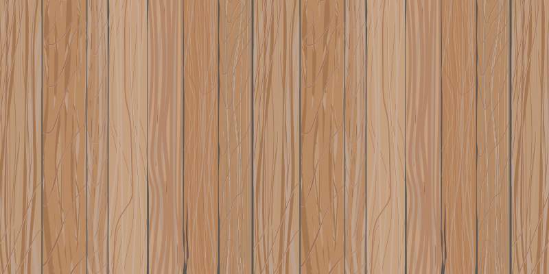 TenStickers. Pale Wooden Board vinyl runner. Wood effect vinyl rug which features a lovely pattern of light brown floor boards which look like they are made of wood.