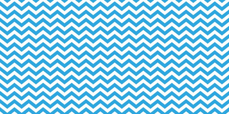 TenStickers. Covor albastru și alb în zig-zag din vinil. Covor cu dungi de vinil care prezintă un model minunat în zig-zag în albastru și alb. Material de vinil de înaltă calitate folosit. Livrare la nivel mondial.
