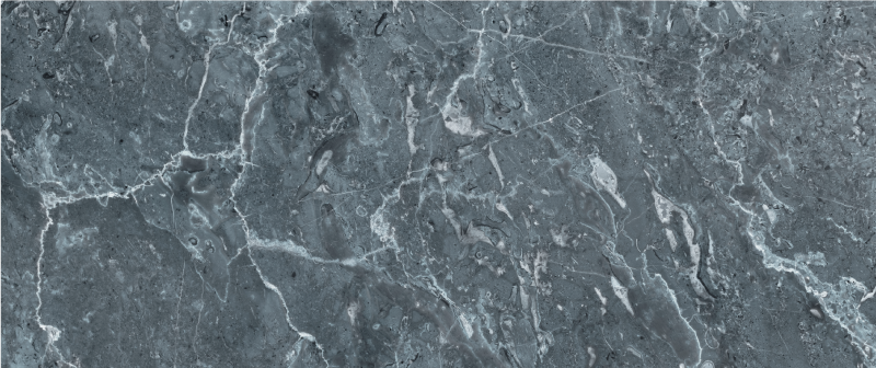TenStickers. Grey Marble kitchen vinyl rug. Marble vinyl rug which features a very realistic marble pattern in brilliant shades of grey and white. Choose your size.