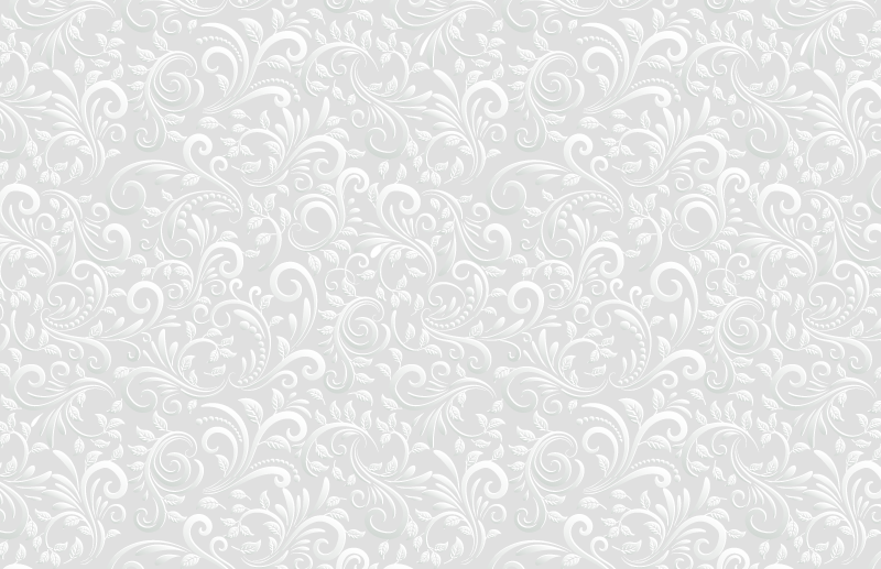 TenStickers. 3D Swirl Pattern Home Office Vinyl Rug. Grey vinyl rug which features  a stunning pattern of swirls which look like they are 3D. The pattern is coloured in a brilliant shade of grey.