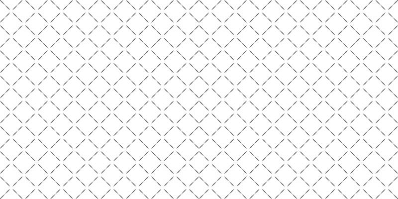 TenStickers. Dywan winylowy Minimalistyczne płytki. Dywan winylowy w nordyckie płytki ze wzorem diamentów utworzonym z kropkowanych linii. Spersonalizowane dywaniki.