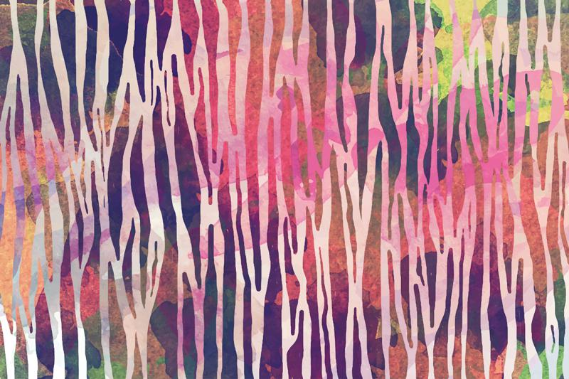 TenVinilo. Alfombra vinilo animal print cebra abstracta. Si está cansado de esos diseños de pisos antiguos que parecen no llamar su atención, mire esta alfombra vinilo animal con textura de cebra