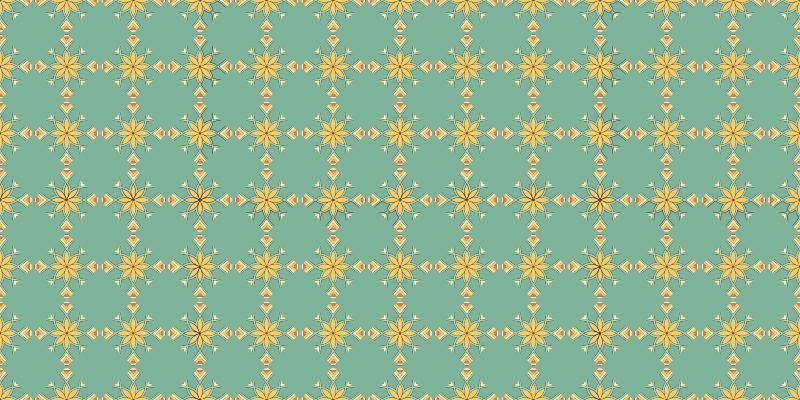 TenVinilo. Alfombras vinilo hidráulica verde vintage. Dale a tu cocina un cambio de imagen tan necesario hoy con esta alfombra vinilo hidráulica para cocina ¡Fácil de colocar! ¡Envío exprés!