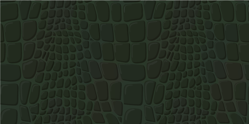 TenStickers. Crocodile skin animal print carpet. Create a more exotic athmosphere in your house today with this cool looking green crocodile animel vinyl rug. Order it now and receive it soon!