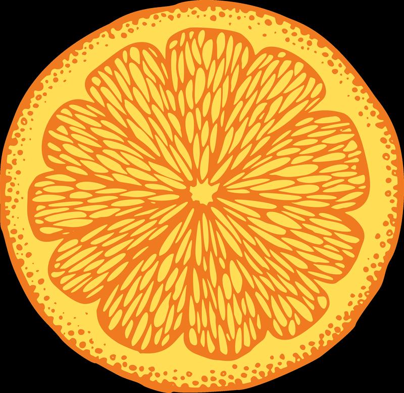 TenVinilo. Alfombra vinilo cocina de naranja. ¡Compre hoy esta alfombra vinilo cocina de naranja en forma redonda! Este producto se puede lavar y limpiar fácilmente ¡Entrega a domicilio!