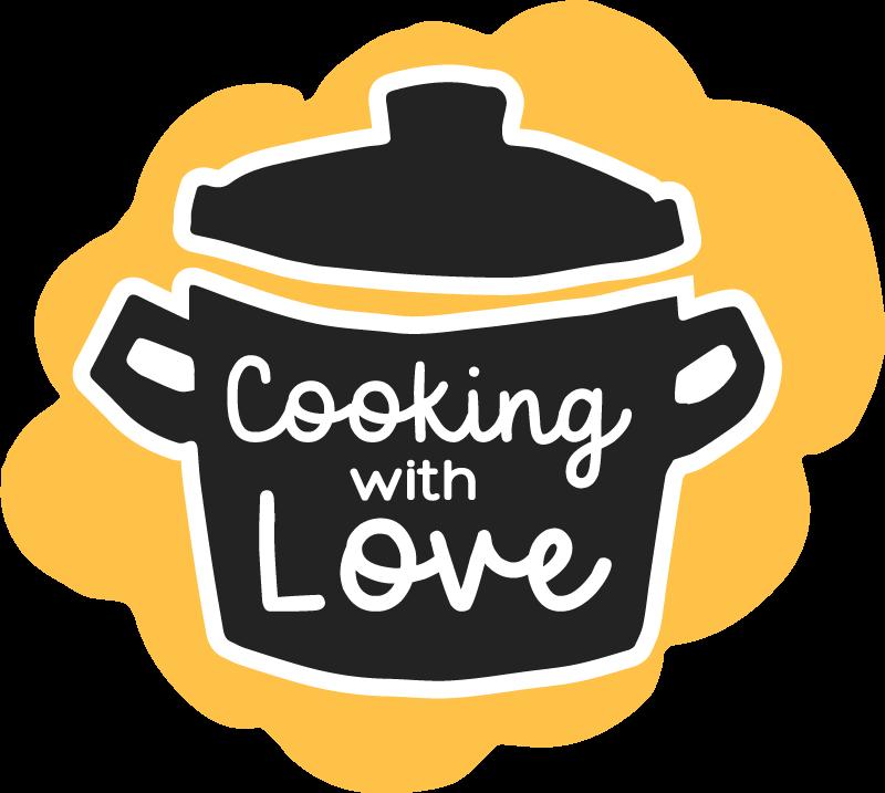 Tenstickers. Matlaging med kjærlighet kjøkkengulv. Elsker du å lage mat? Så er dette vinylflisen kjøkkenmatte du leter etter! Hva venter du på? Få din nå! Bestill den i dag!