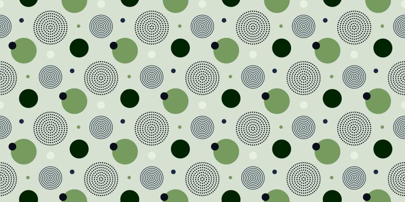 TenStickers. Piso de cozinha com padrão geométrico verde e preto. O nosso pavimento vinílico para cozinha não é apenas um bom elemento decorativo, mas também útil, visto que pode ser facilmente limpo e é antiderrapante.
