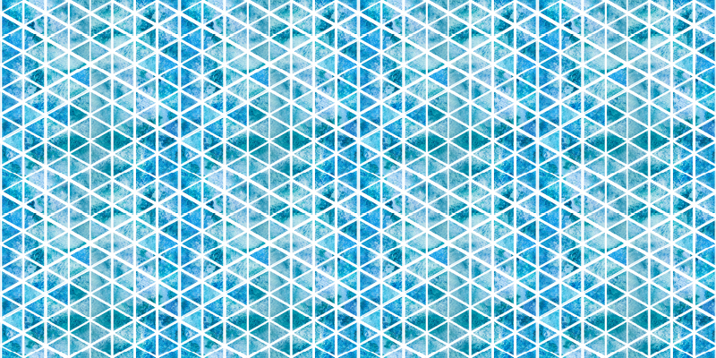 TenStickers. Tourquise sea tiles tile mat. Bring the sea into your house with this amazing designed living room rug. Don't hesitate and buy your new amazing Moroccan tile vinyl rug now!