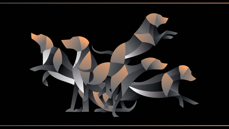 TenVinilo. Aflombra vinilo animales patrón labradores. Una increíble alfombra vinilo animales de labrador para cambiar el aspecto de tu lugar de una manera excepcional ¡Envío exprés!