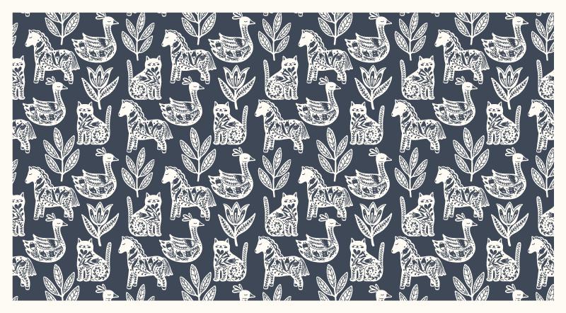 TenVinilo. Alfombra vinilo mosaico patrón egipcio. Fantástica alfombra vinilo mosaico con patrón egipcio para que decores tu salón o dormitorio. Alta calidad ¡Envío exprés a domicilio!