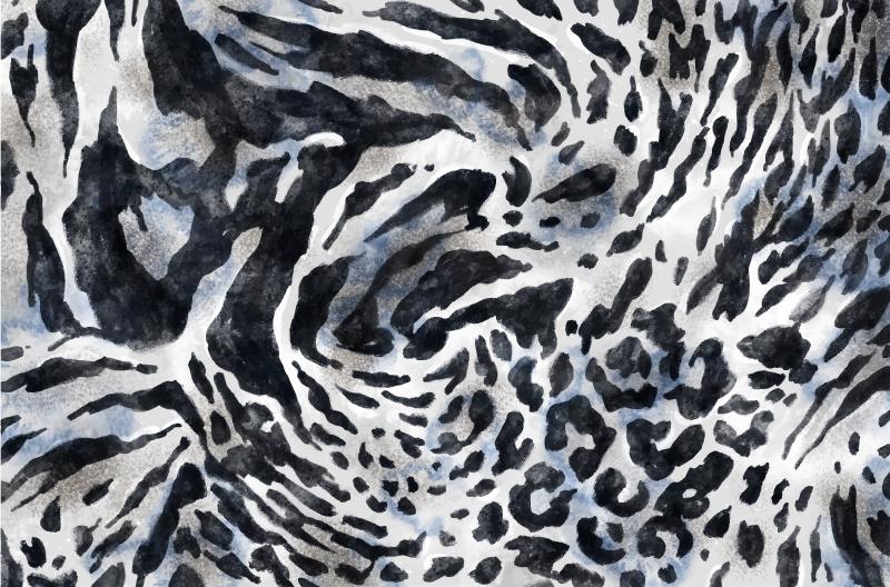 TenVinilo. Alfombra vinilo animal print cebra acuarela. ¡Decora tu casa con esta alfombra vinilo animal print de cebra acuarela gris con patrón original! Ideal para tu salón o dormitorio.