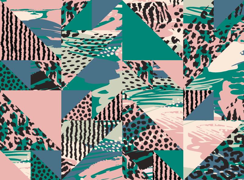 TenVinilo. Alfombra vinílica animal print azilejos leopardo . Alfombra vinilo animal print de azulejos de leopardo étnico para resaltar la apariencia en cualquier lugar ¡Envío exprés!
