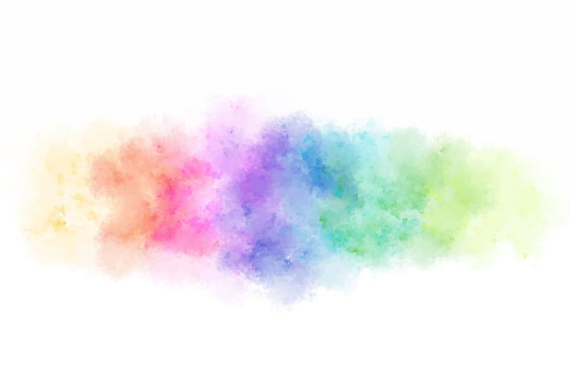TenVinilo. Alfombra vinilo rectangular spray splash. ¡Alfombra vinilo rectangular con colores splash  muy original que realmente dará más luz a tu hogar! ¡Descuentos disponibles!