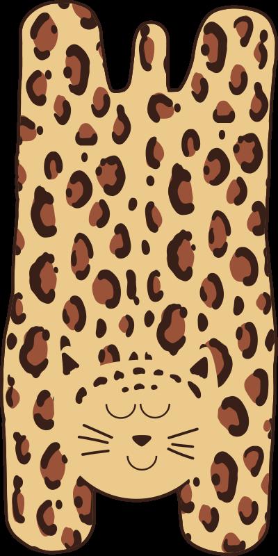 TenVinilo. Alfombra vinílica animal print guepardo infantil. Esta alfombra vinílica animal print de guepardo para que decores la habitación de tu hijo. Elige las medidas ¡Descuentos disponibles!