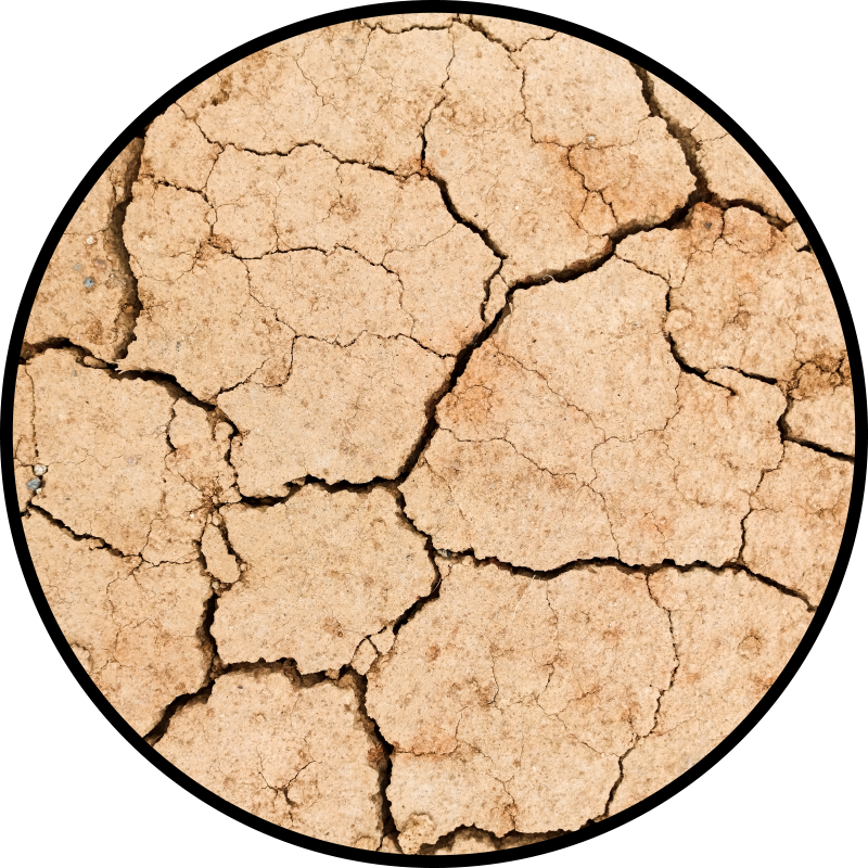 TenStickers. Cracked stone bedroom vinyl carpet. Stone effect vinyl rug which  features an image of a desert floor with large cracks in it. Sign up for 10% off. High quality.