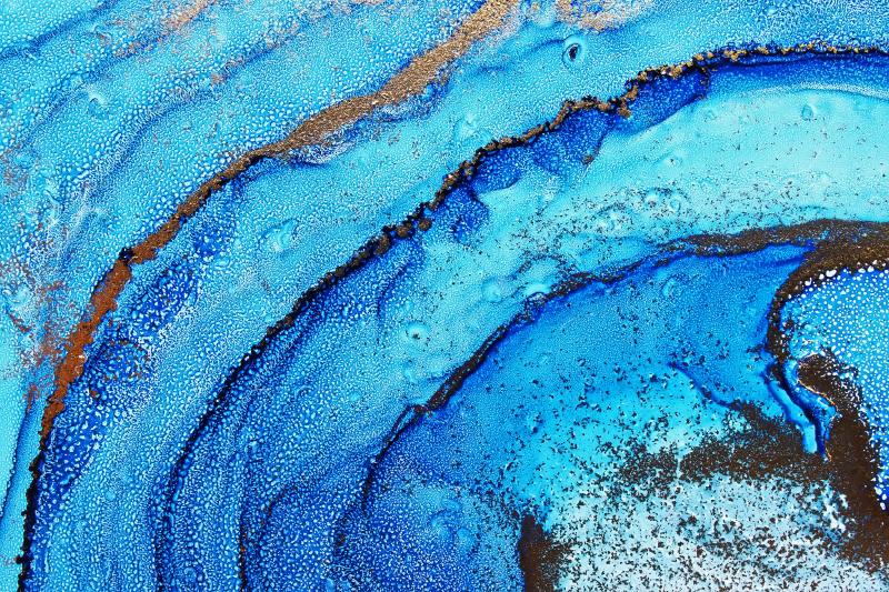 TenVinilo. Alfombra vinilo textura azules abstractos. Alfombra vinilo textura abstracta de una mezcla de colores azules con texturas. Disponible en muchos tamaños ¡Entrega a domicilio!