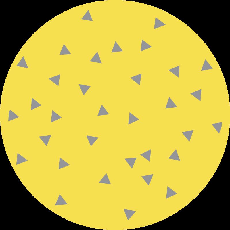 TenVinilo. Alfombra vinilo nórdica triángulos pantone. Alfombra vinilo nórdica circular con triángulos para decorar cualquier lugar que elijas. Adecuado para espacios interiores ¡Envío exprés!