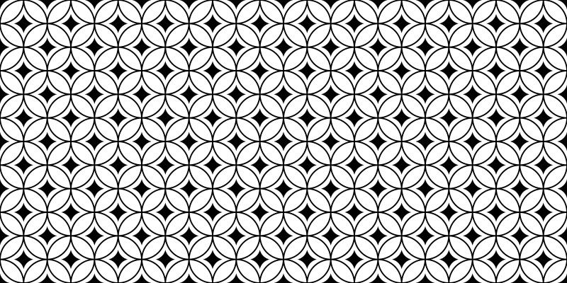 TenVinilo. Alfombras vinilo azulejos geométricos negros. Esta alfombra vinilo azulejos con fondo blanco con pequeños cuadrados negros en el medio rodeados de delgados contornos será ideal ¡Envío exprés!