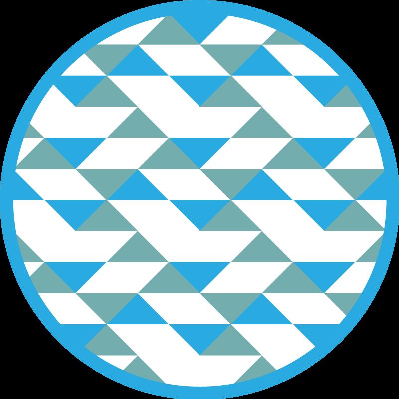 TenVinilo. Alfombras vinílicas de azulejo triángulos azules. Alfombra de azulejos con triángulos azules para personalizar tu lugar favorita. ¡Compre ahora! ¡Con entre a domicilio! ¡Elija el tamaño adecuado!
