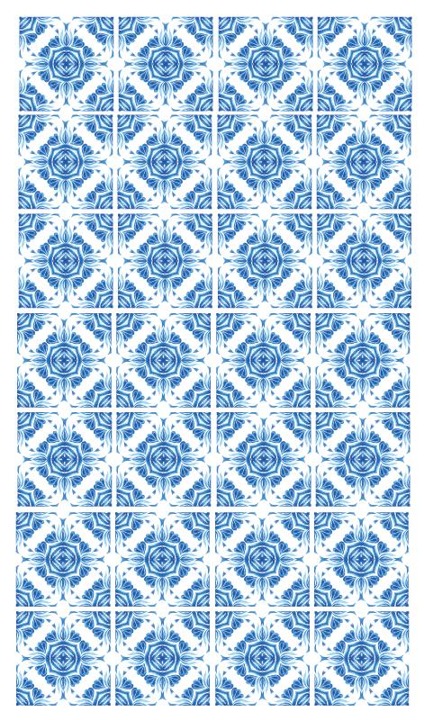 TenVinilo. Alfombras vinilo baño azulejos portugueses. Alfombra vinilo baño de azulejos portugueses para cambiar la apariencia de tu lugar. Es duradero, fácil de limpiar y de calidad ¡Envío exprés!