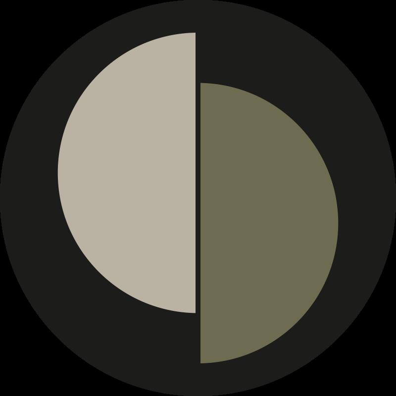 TenStickers. İskandinav tarzı yulaf ezmesi yeşil vinil halı. Bu modern vinil halı, yulaf ezmesi yeşilinin iki rengini ayıran, ortasında siyah bir çizgi bulunan bir daire şeklindedir. Eve teslimat mevcut!