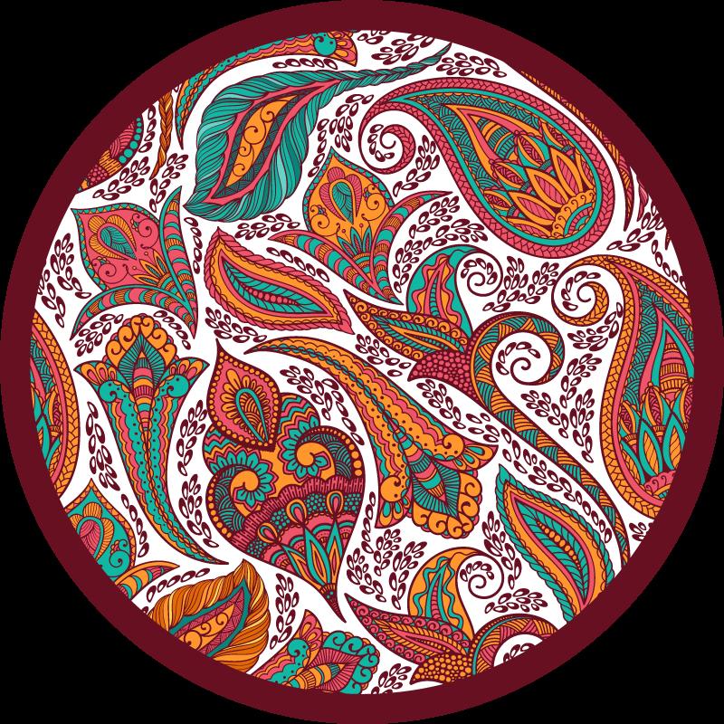 TenVinilo. Alfombra vinilo cocina estilo persa. ¿Qué mejor regalo para ti o para alguien que conoces que esta alfombra vinilo cocina de estilo persa? Elige tus medidas ¡Envío exprés!