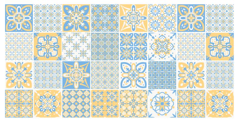 TenVinilo. Alfombra vinilo azulejos tonos sobrios. Combinando diseño y modernidad te ofrecemos esta hermosa alfombra vinilo azulejos para decorar el suelo de cualquier estancia de tu hogar.