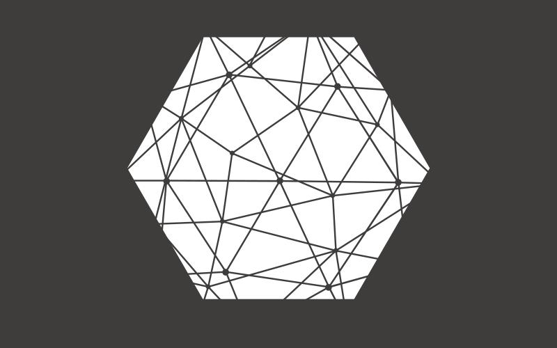 TenVinilo. Alfombra vinilo nórdica de hexágono. Puedes echar un vistazo a esta alfombra vinilo nórdica de hexágonos y de estilo escandinavo. Diseño blanco y negro ¡Elige las medidas!