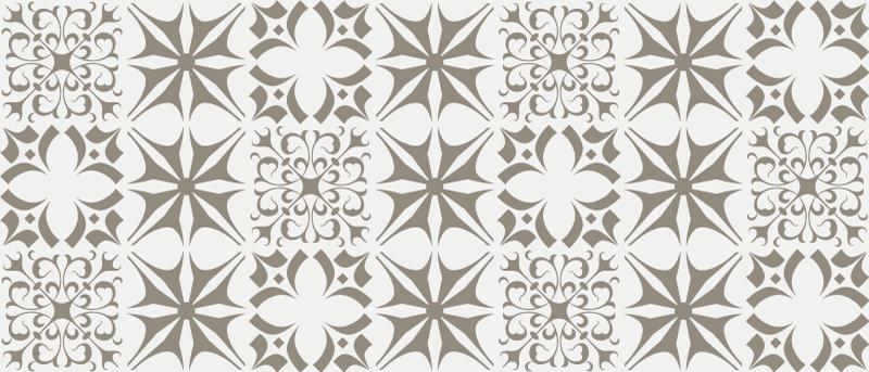 TenStickers. Tapete de azulejo minimalista cinza. Carpete cinza minimalista para a sua casa e escritório. Este tapete pode ser colocado em qualquer espaço que desejar e é fácil de limpar sem problemas.