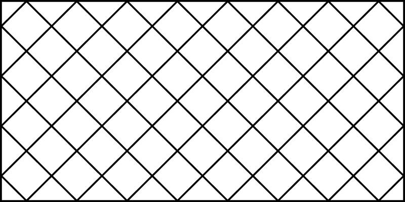 TenVinilo. Alfombra vinilo nórdica rombos finos. Esta alfombra vinilo nórdica se basa en un fondo blanco con líneas negras por todas partes, creando pequeños cuadrados ¡Fácil de mantener!