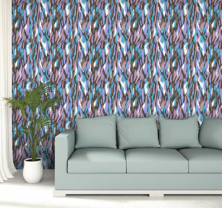 TenStickers. Living Room Wallpaper Van Gogh. Embrace your inner artist by ordering this art wallpaper. Order it here online and enjoy the new decoration in your house in no more than few days.