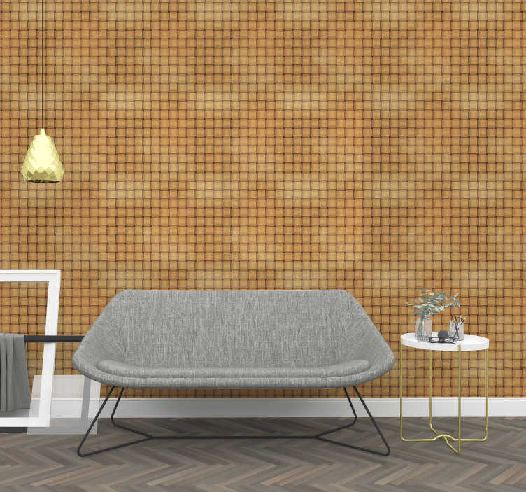 TenStickers. Wood effect Textured Wallpaper. Looking for a mordern way to personalize your walls? Don't look further, this wood texture wallpaper is perfect for you!