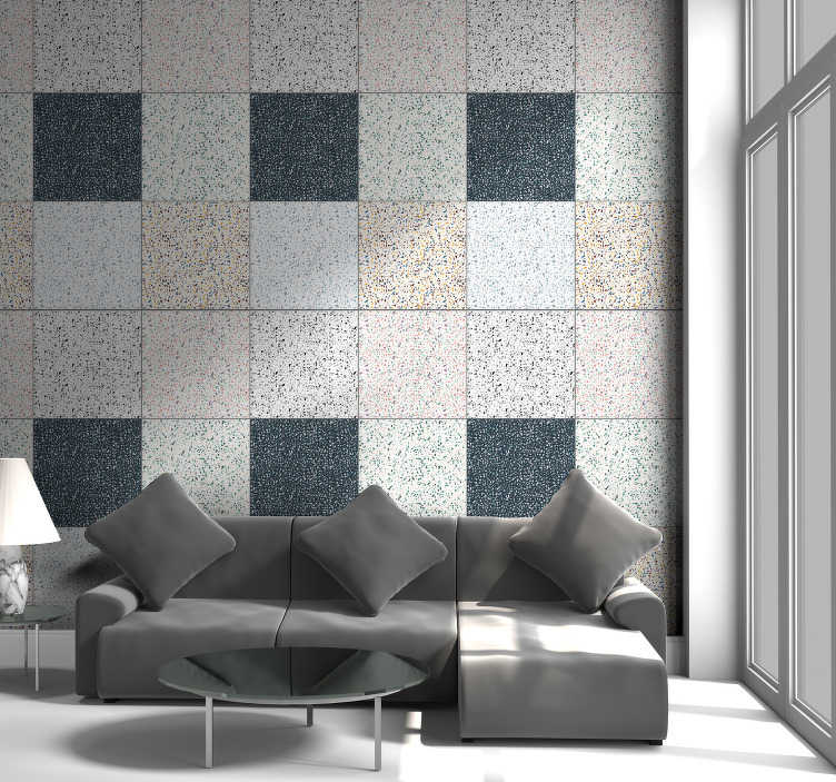 TenStickers. Grey marble Marble Effect Wallpaper. High quality and highly elegant coloured marble wallpaper will make your rooms look interesting without spending a lot of time nor money.