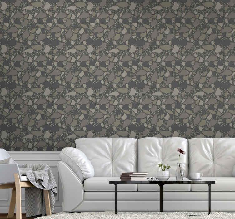 TenStickers. Behang steen Steen textuur. Geef je huis een unieke en spectaculaire decoratie met ons originele en luxe steen textuur behang van hoge kwaliteit.
