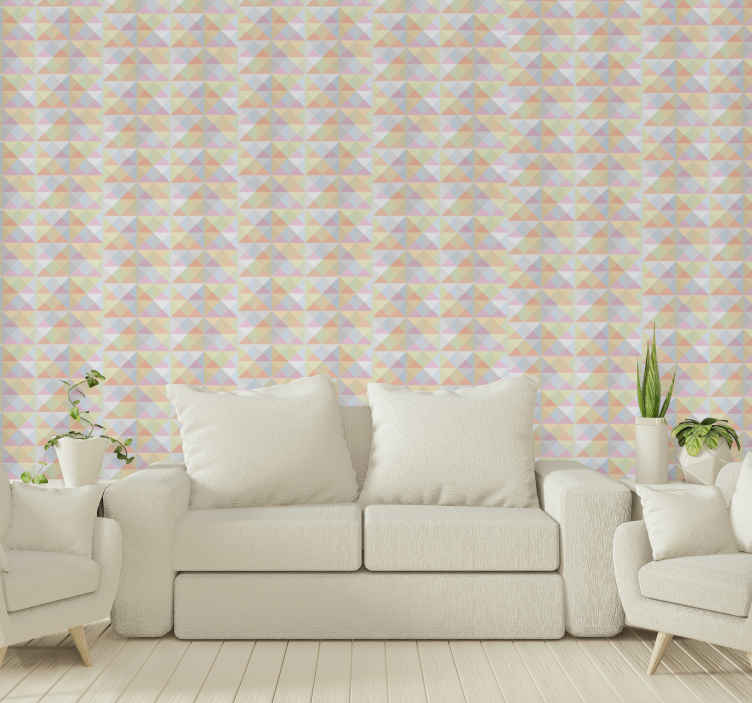 TenStickers. Pyramids 3d wallpaper Bedroom Wallpaper. When you have amazing patterned wallpaper on your wall, you dont have to worry about more decorative elements on the space. Easy to apply and durable.