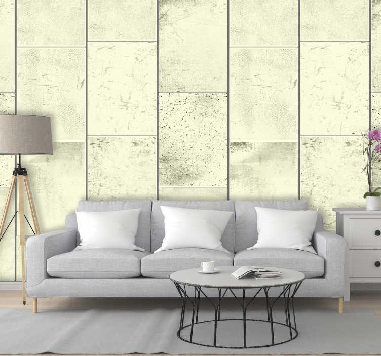 TenStickers. Behangpapier beton Beton Print. Als je een authentieke industriële sfeer wilt creëren in jouw woning, dan is deze beton print behang de ideale decoratie voor jouw huis