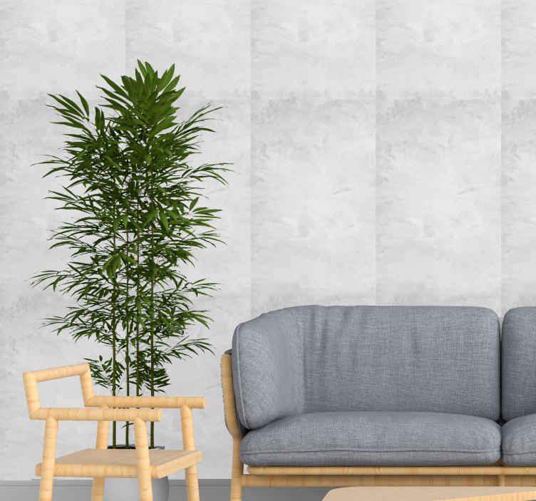 TenVinilo. Papel pintado imitación ladrillo blanco moderno. Este papel pintado de ladrillo de pared blanca es adecuado para decorar cualquier habitación de una casa ¡Envío exprés a domicilio!