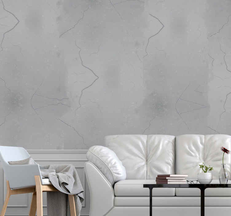 TenStickers. White background stone texture effect wallpaper. White background stone texture brick living room wallpaper. This wallpaper would create a natural wall effect but with broken lines on your space.