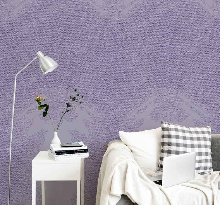 TenStickers. Purple Sand Stone effect wallpaper. This purple sand stone textured wallpaper would blend with your space in the way you would love. It can be installed on a living room, bedroom, etc..