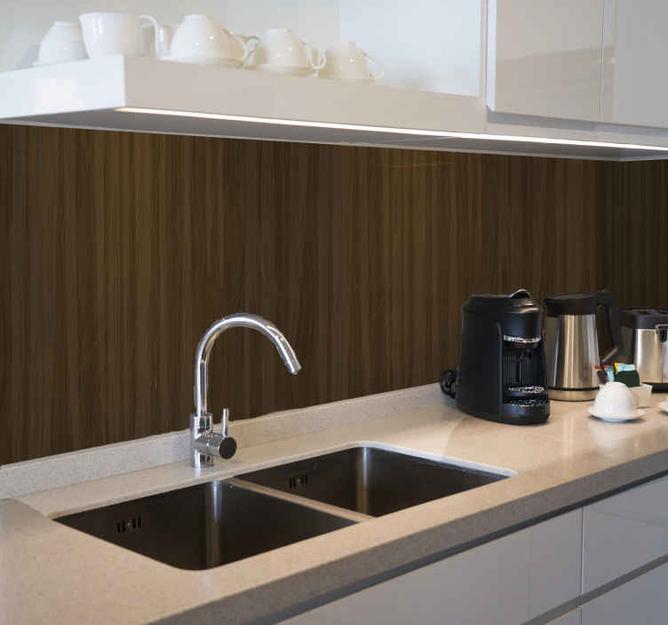 TenStickers. symmetrical wood pattern Wood wallpaper. Symmetrical wood pattern effect  wallpaper for your kitchen. The design can be decorated on other areas in a house. It is easy to apply and durable.