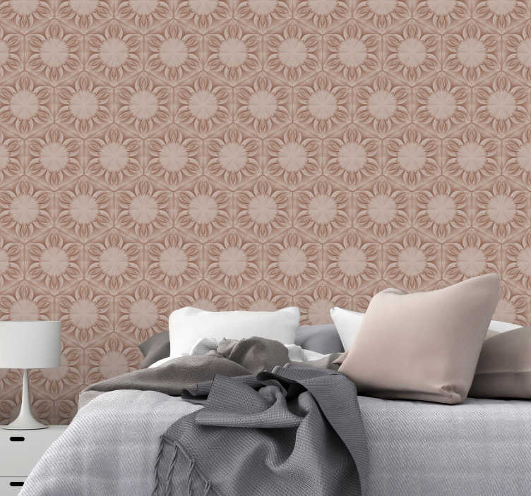 TenStickers. Stone Designs Vintage Wallpaper. A fantastic stone style wallpaper with which to decorate any wall in your home - Depicting a variety of stone patterns! Discounts available.