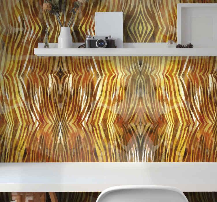 TenStickers. Zebra suluboya doku zebra baskı duvar kağıdı. Bu dokulu zebra desenli duvar kağıdıyla bir oturma odası, yatak odası, ofis veya başka bir alanın duvarını dekore edin. Uygulaması kolay ve dayanıklıdır.