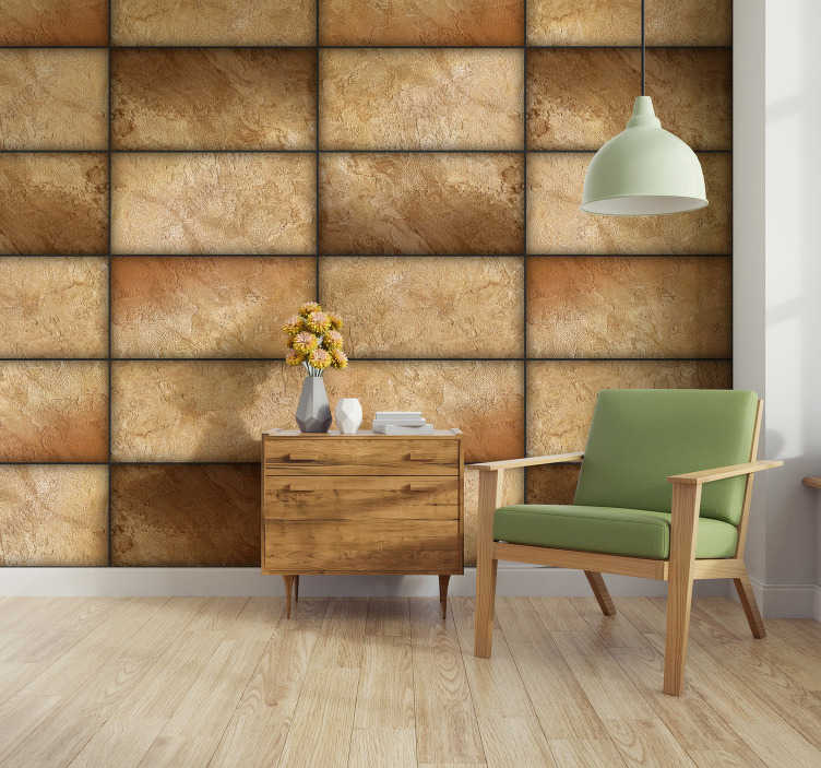 TenStickers. Sand Pattern Wallpaper. Leave your boring painted walls behind and turn your home into a masterpiece with this amazing sand pattern wallpaper. Worldwide delivery!